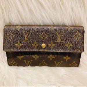 Authentic Louis Vuitton Sarah Wallet #4.4b